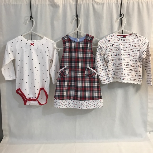 83570ac088081 Tommy Hilfiger Matching Sets | Girl 1218 Months Tops Dress Bundle ...